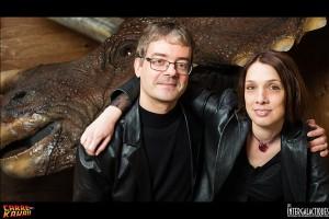 Olivier Paquet et Audrey Burki