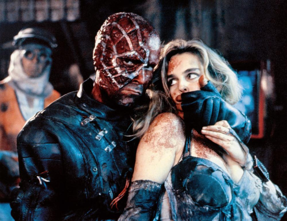 ACCION MUTANTE, (aka MUTANT ACTION), from left: Antonio Resines, Frederique Feder, 1993. ©Jef Films International /