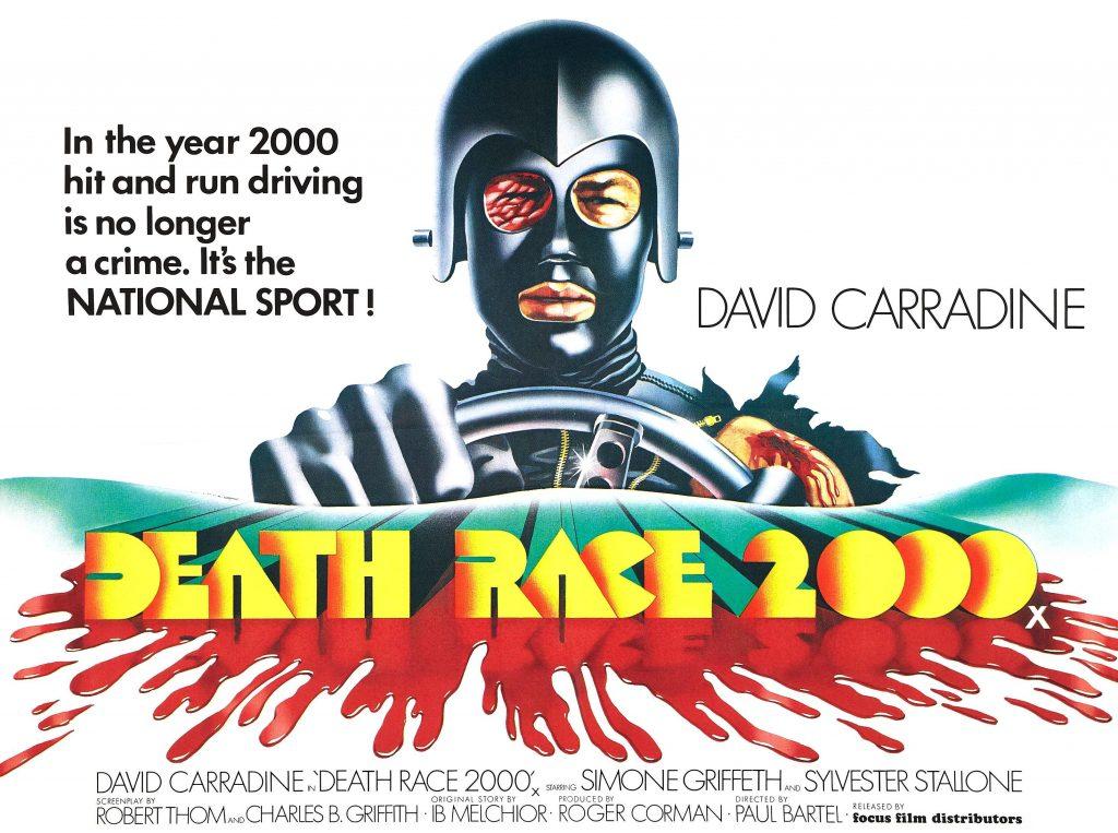 Affiche Death Race 2000