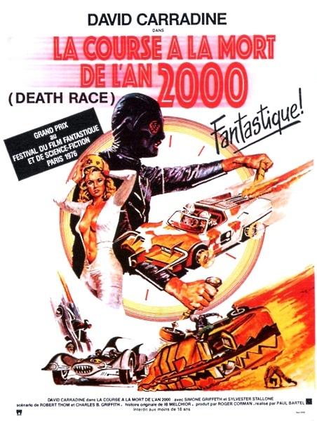 Affiche Death Race 2000 2
