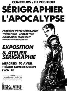 IGL 2019 - Visuel Sérigraphier l'apocalypse